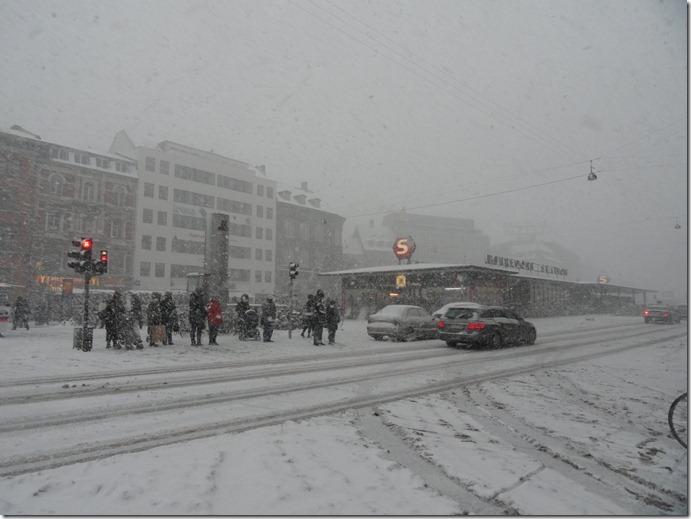 Norreport nevado