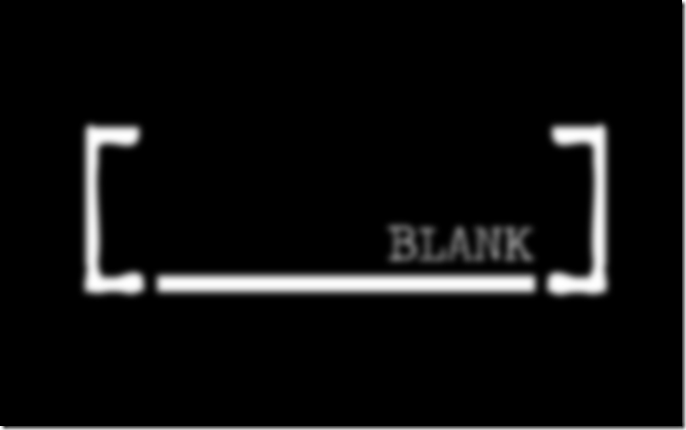 BLANK Logo