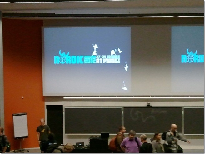 Alright people! The real deal is starting now! Main keynote of the #NGJ12 starts now!