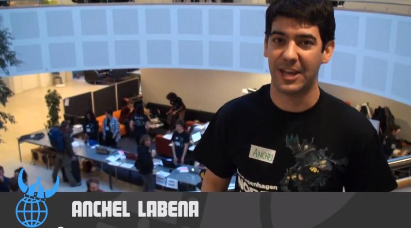 Videoblogging from Nordic Game Jam 2013